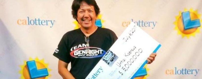 คนไทยผู้โชคดีคว้าเงิน 165 ล้านจาก California Lottery
